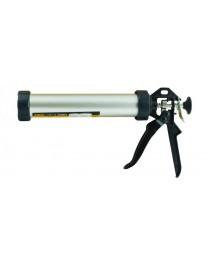пистолет для герметиков 225мм 310мл (алюм туба)