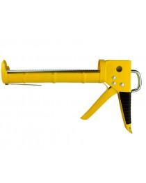 Пистолет для герметиков с трещеткой 225мм (полузакрытый)
