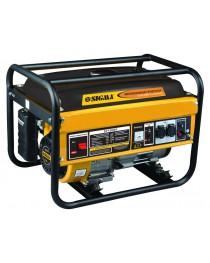 генератор бензиновый 5.0/5.5кВт 4-х тактный ручной запуск