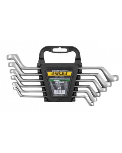 Ключи накидные 8шт 6-22мм CrV satine SIGMA
