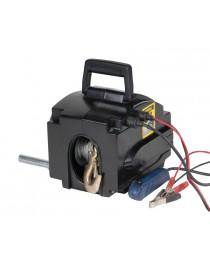 Лебедка автомобильная электрическая переносная 12 В 4 метра 2000lbs SIGMA