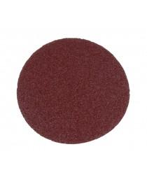 """бумага наждачная """"круглая"""" на липучке 125 мм 10 шт (зерно 40)"""