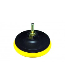 Диск шлифовальный резиновый 115мм с липучкой мягкий (болгарка) М14*2 - 6 мм 10000 об/мин
