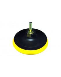 Диск шлифовальный резиновый 125мм с липучкой мягкий (болгарка) М14*2 - 8 мм 10000 об/мин