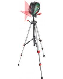 Лазерный нивелир (уровень) с функцией отвеса в комплекте со штативом Bosch UniversalLevel 3 (0603663901)