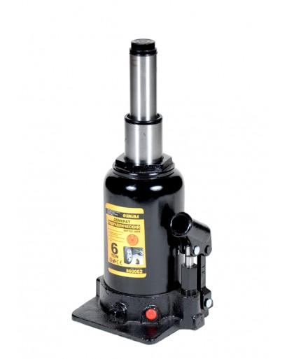 домкрат гидравлический бутылочный телескопический 6т