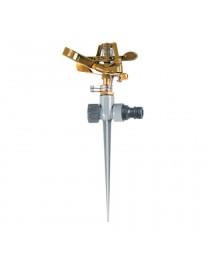 Дождеватель импульсный на металлическом колышке (металл) FLORA (5013224)