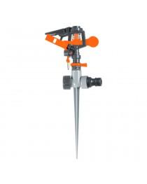 Дождеватель импульсный на металлическом колышке (пластик) FLORA (5013234)