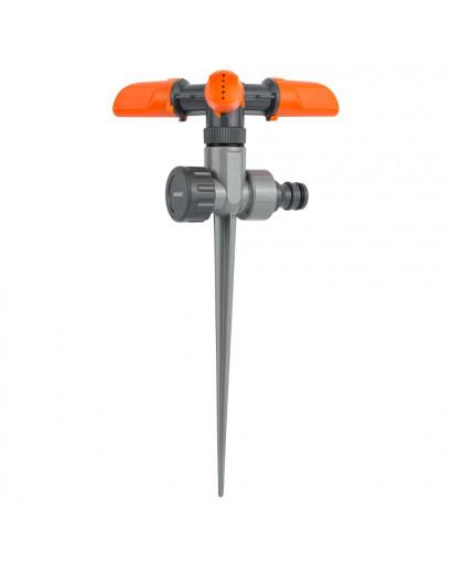 Дождеватель круговой на металлическом колышке FLORA (5013284)