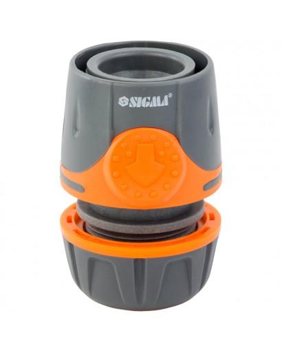 """Коннектор 1/2"""" быстросъёмный для шланга 1/2"""" FLORA (5015524)"""