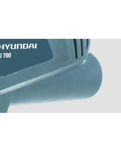 Электролобзик 570 Вт 3000 ход/мин глубина распила 65 мм Угол реза 90-45°  HYUNDAI J 700