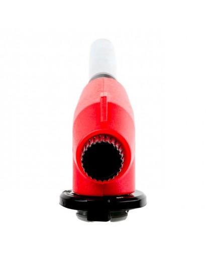 Горелка газовая, пьезозажигание на курке, регулятор, удлиненное сопло INTERTOOL GB-0022