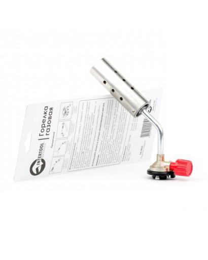Горелка газовая, регулятор, сопло D=30мм INTERTOOL GB-0025