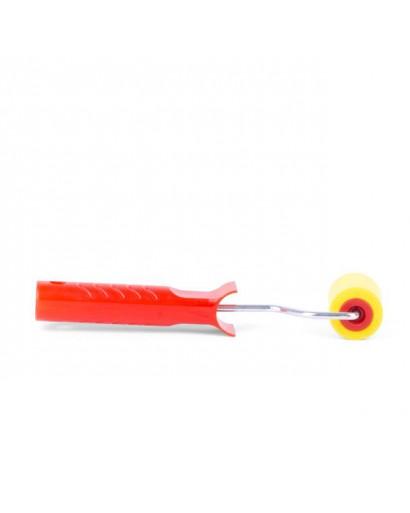 Валик прижимной обойный 40*50*6 мм с ручкой INTERTOOL KT-0016
