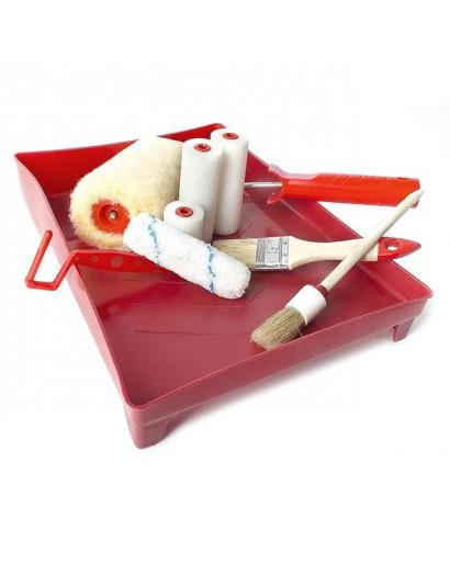 Набор малярный 10 предметов INTERTOOL KT-3010