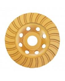 Фреза торцевая шлифовальная алмазная Turbo 125x22,2 мм INTERTOOL CT-6225