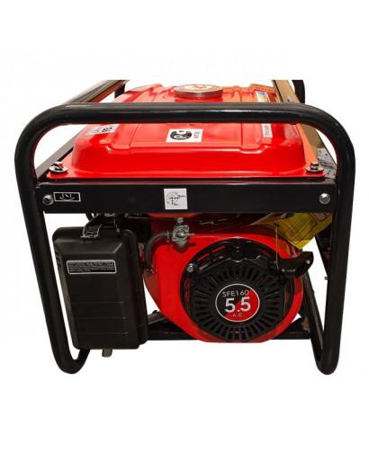 Генератор бензиновый макс мощн. 2,4 кВт., ном. 2,2 кВт., 5,5 л.с., 4-х тактный, ручной пуск 40,7 кг. INTERTOOL DT-1122
