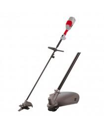 Триммер электрический 1000 Вт, 230 В, 0-7300; 0-11000 об/мин, головка с капроновой нитью, 4-х зубый нож, диаметр рабочей поверхности 230 мм, 380 мм INTERTOOL DT-2242