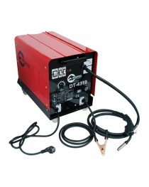 Сварочный полуавтомат 230 В, 7,5 кВт, 40-180 А, диаметр проволоки 0,6-1 мм INTERTOOL DT-4319