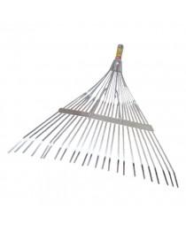 Грабли веерные 24 прута, усиленные INTERTOOL FT-3003