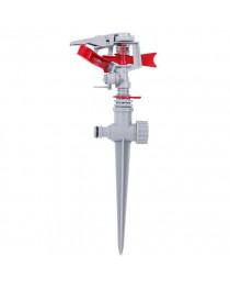 Дождеватель пульсирующий с полной/частичной зоной полива на костыле, круг/сектор полива до 12 м, PP, ABS INTERTOOL GE-0051