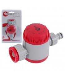 """Таймер для подачи воды с сеточным фильтром, внутренней резьбой на входе 3/4"""", 15; 30; 45; 60; 75; 90; 105; 120мин, на коннектор 1/2"""",автоматическое отключение INTERTOOL GE-2011"""