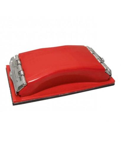 Брусок для шлифования 100x210 мм, металлический зажим для быстрой и надежной фиксации INTERTOOL HT-0002