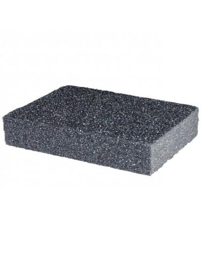 Губка для шлифования 100x70x25 мм, оксид алюминия К180 INTERTOOL HT-0918