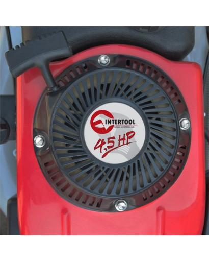 Газонокосилка бензиновая 4,5HP, 3,4 кВт, ширина среза 400 мм INTERTOOL LM-4540