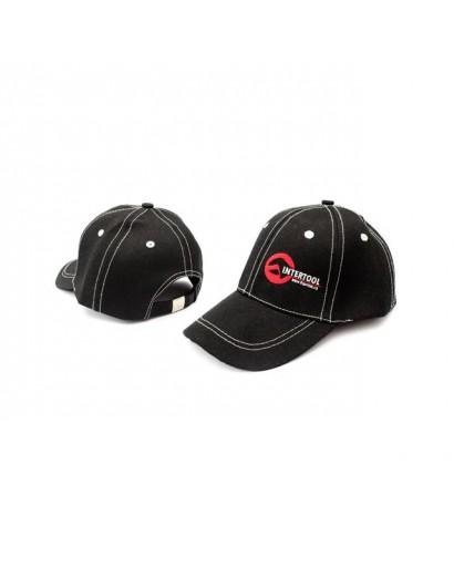 Бейсболка (черная) INTERTOOL PR-0100