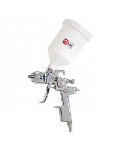 HVLP STEEL PROFКраскораспылитель 1,4 мм, верхний пластиковый бачок 600 мл. INTERTOOL PT-0103