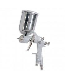 HP STEEL 100Краскораспылитель 1,0 мм, верхний металлический бачок 400 мл, три регулировки INTERTOOL PT-0201