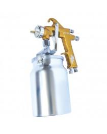 HP BRONZE PROFКраскораспылитель 1,5 мм, нижний металлический бачок 1000 мл. INTERTOOL PT-0221