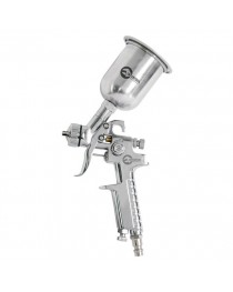 HP STEEL MINI PROFКраскораспылитель 0,5 мм, верхний металлический бачок 125 мл. INTERTOOL PT-0306