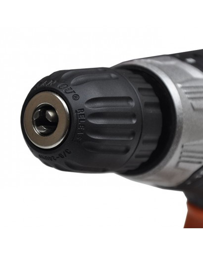 Дрель шуруповерт STORM 420Вт, 0-850об/мин, 1.0-10мм, max крутящий момент 10Н.М., с уровнем INTERTOOL WT-0104