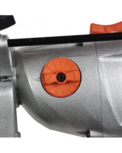 Дрель ударная STORM 1200Вт, 2 скорости, 0-1000/0-3000об/мин, 1.5-13мм, алюминиевый корпус редуктора INTERTOOL WT-0112