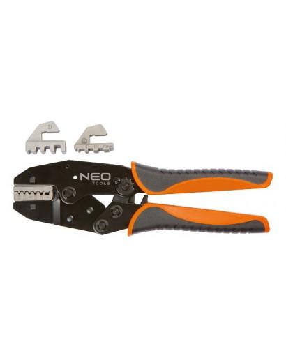 Клещи для обжима кабельных наконечников 220 мм NEO-TOOLS