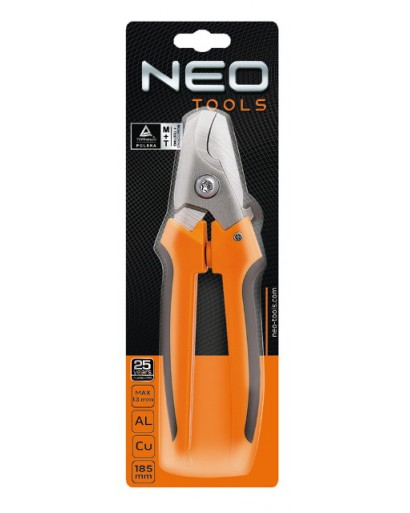 Кабелерез для медных алюминиевых кабелей 185 мм до 13 мм NEO-TOOLS