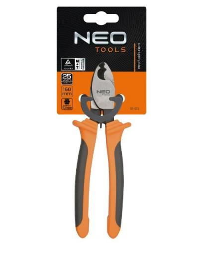 Кабелерез для медных и алюминиевых кабелей 160 мм до 10 мм NEO-TOOLS