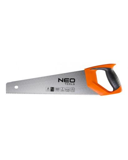 Ножовка по дереву PTFE 400 мм 7TPI NEO-TOOLS