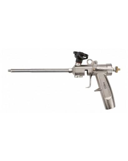 Пистолет для монтажной пены 350 мм с латунной головкой NEO-TOOLS
