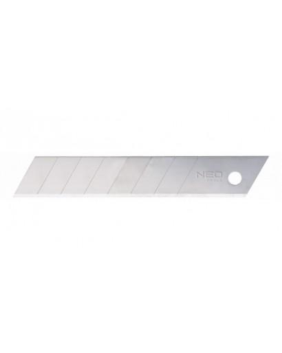 Лезвие с трехгранной заточкой сегментное 18 мм*0.5 мм 10 шт NEO-TOOLS