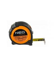 Рулетка NEO-TOOLS стальная лента 8 м x 25 мм магнит