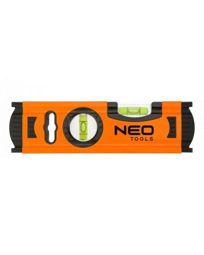 Уровень алюминиевый 20 см 2 глазка NEO-TOOLS