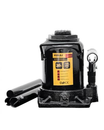 Домкрат гидравлический бутылочный низкопрофильный 20т 190-335мм SIGMA