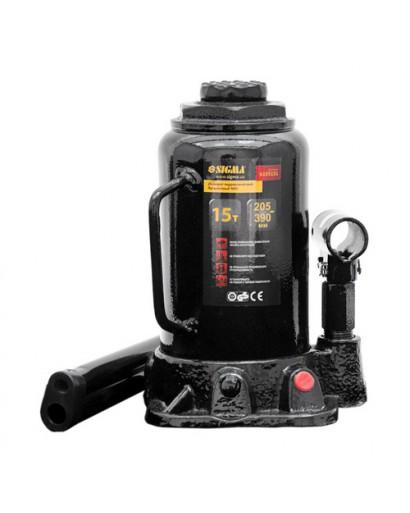 Домкрат гидравлический бутылочный mid 15тонн 205-390мм SIGMA