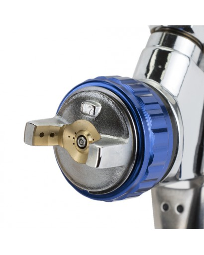 Краскораспылитель LVMP 1.7мм 170-285л/мин 2-2.5Бар с верхним пластиковым бачком 600мл алюминиевый корпус Refine (6814231) SIGMA