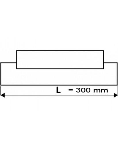 Шпатель для фугования резиновый 300 мм TOPEX
