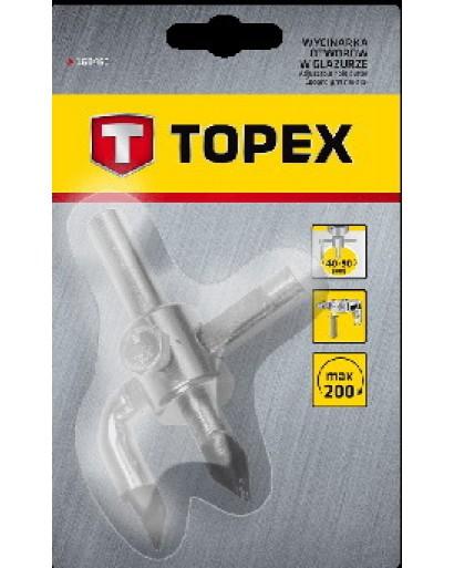 Сверло для плитки диаметр 40 - 90 мм TOPEX