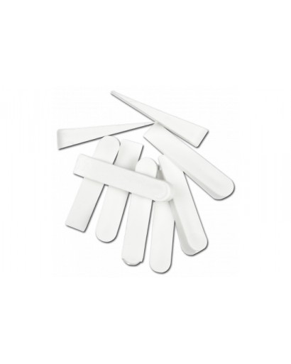 Клинья дистанционные пластмассовые для укладки плитки 28 мм 100 штук TOPEX